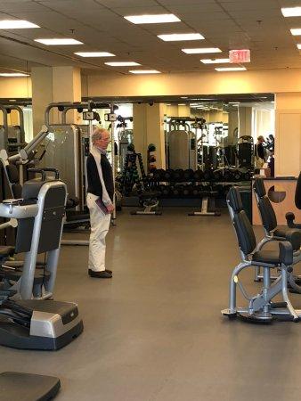 Mandarin Oriental, Washington DC: athletic center