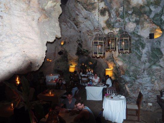 Ali Barbour's Cave Restaurant: The Cave