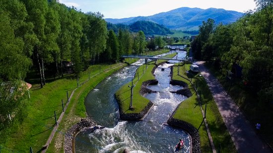 Lacko, โปแลนด์: White Water Course Wietrznice
