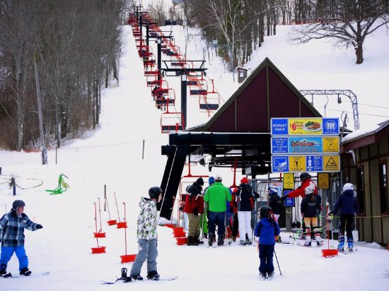 Haverhill, MA: Chair lift | Ski Bradford