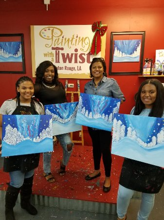 painting with a twist baton rouge la anmeldelser