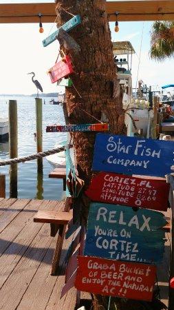 Star Fish Company Dockside Restaurant Cortez Menu Prices Reviews Tripadvisor