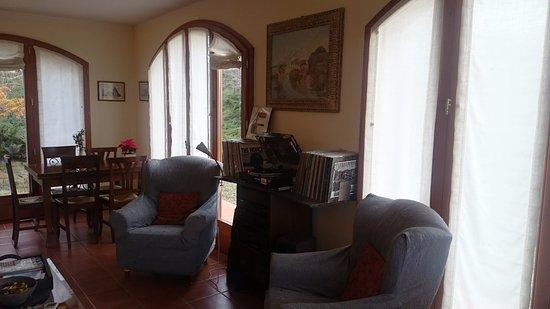 Agriturismo Esperia: Зона для отдыха и завтрака