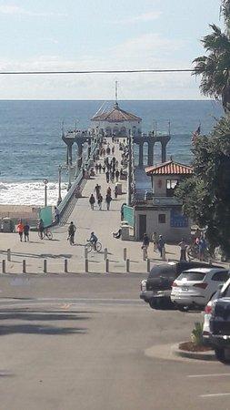 Manhattan Beach, CA: beach pier