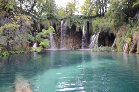 Plitvica, Hırvatistan: Wodospady Pevaleka