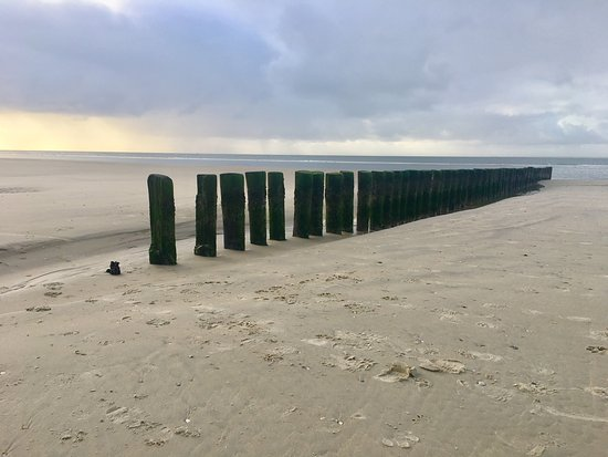 Hollum, The Netherlands: strand Ameland dec. 2017