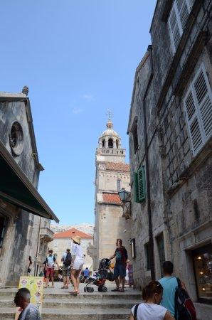 Ciudad de Curzola (Korčula), Croacia: Kościół Matki Boskiej i Katedra Św. Marka