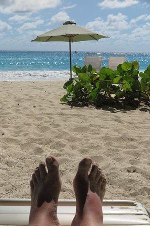Oistins, Barbados: MY FEET