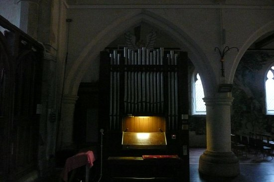 Challock, UK: The organ