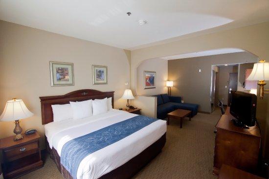 Comfort Suites Waco: King Suite