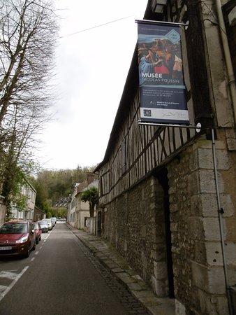 Les Andelys, Frankrig: Entrée du musée