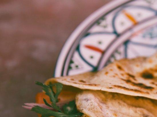 Imsouane, Maroko: Delicious taco