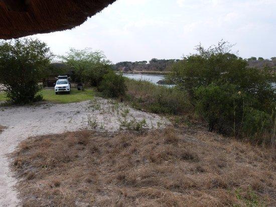 Rundu, Ναμίμπια: Camping by the Okavango