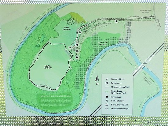 Map Picture Of Horseshoe Farms Nature Preserve Wake Forest Tripadvisor