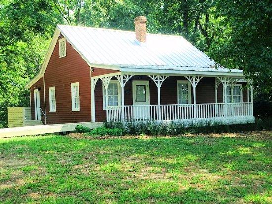 Wake Forest, North Carolina: farmhouse after renovation