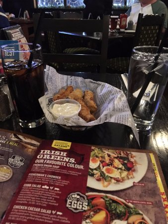 Newmarket, Canada: Fried Pickles