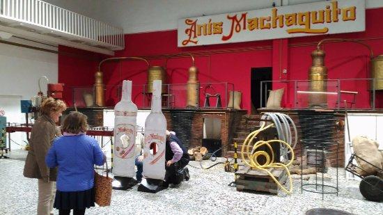 Rute, Spania: Turismo Industrial en familia