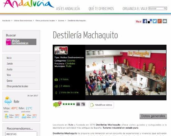 Rute, Spania: Destino Andalucía
