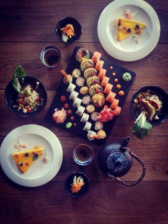 Konin, Polonia: Obiad  z deserem