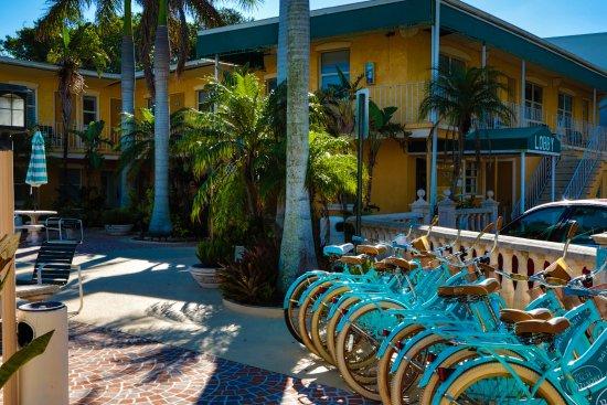Siesta Beach Resort & Suites: Free Bike Rental