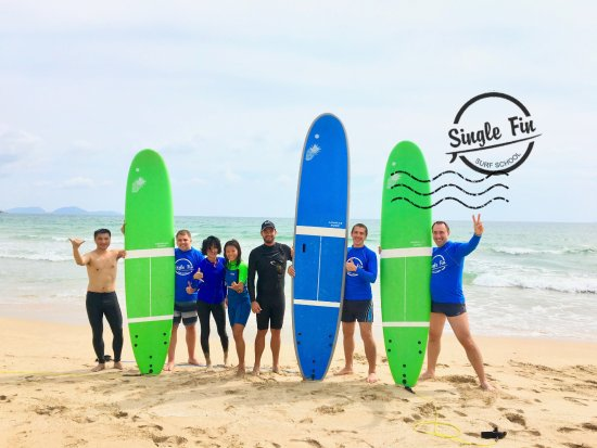Single Fin Surf School