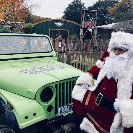 Bobbington, UK: Santa's grotto at Halfpenny green