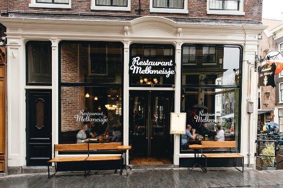 Het Melkmeisje Amsterdam Red Light District De Wallen