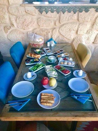 Ortahisar, Turquía: Breakfast spread