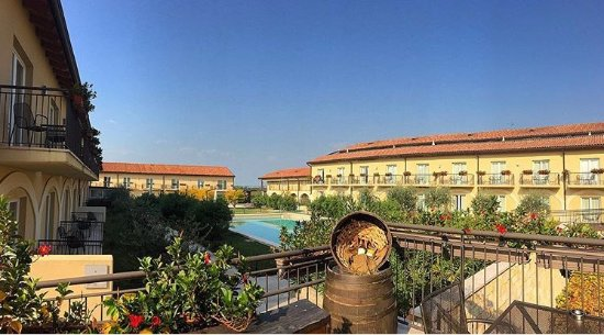 Panorama dalla terrazza del ristorante - Bild von Principe Di Lazise ...