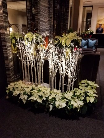 Loden Hotel: Lobby decorations!