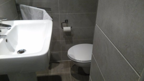 Hotel Boronali: 30 cm entre le lavabo et le mur