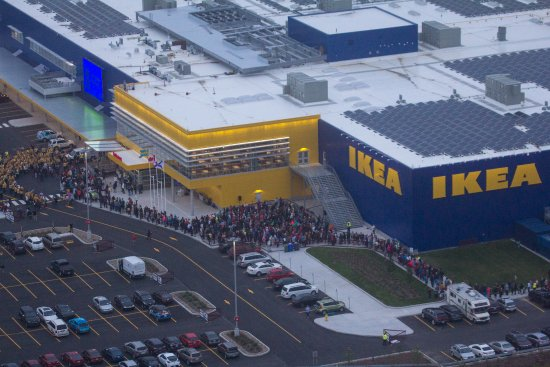 IKEA Dartmouth Crossing's Opening Day