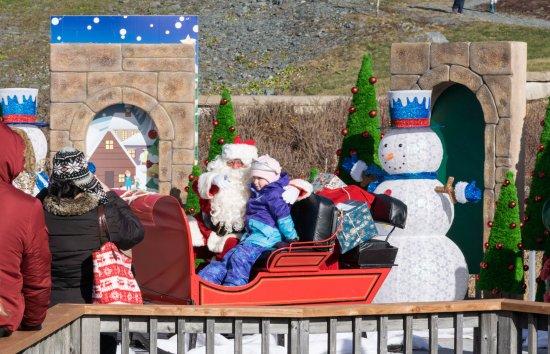 Dartmouth, Kanada: Meeting Santa!