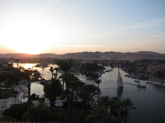 Aswan From Old Cataract Hotel Balcony Picture Of Kemet Travel