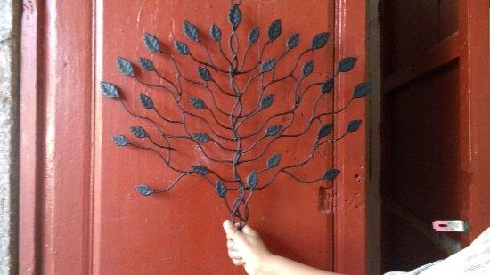 Santa Clara del Cobre: árbol hecho de cobre