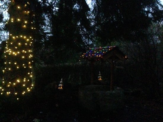 Eaglesham, UK: The fairies have arrived for Christmas.