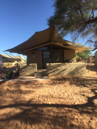 Sossusvlei Lodge: Individual cabin with porch