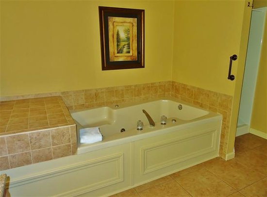 Large Bathroom Jacuzzi Tub Picture Of Blue Ridge Village