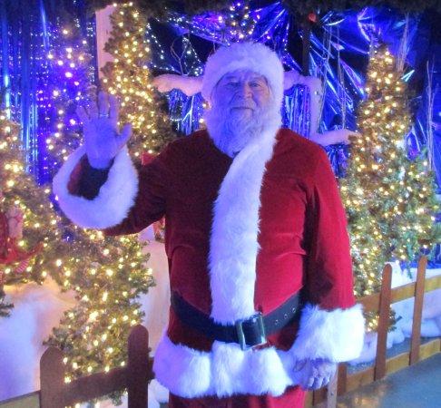 Putney, VT: Santa at his home at Santa's Land USA
