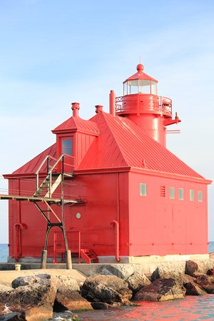 "Sturgeon Bay, WI: ""Big Red."""