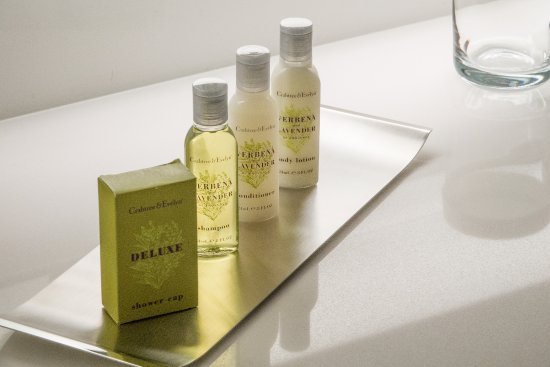 Chelsea, Массачусетс: Only the best bath amenities will do at our airport hotel.