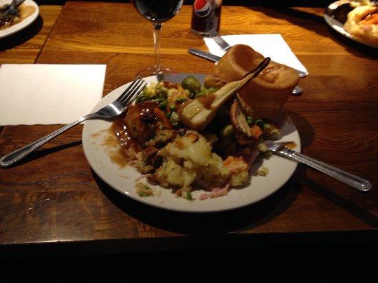 Aldershot, UK : Carvery meal