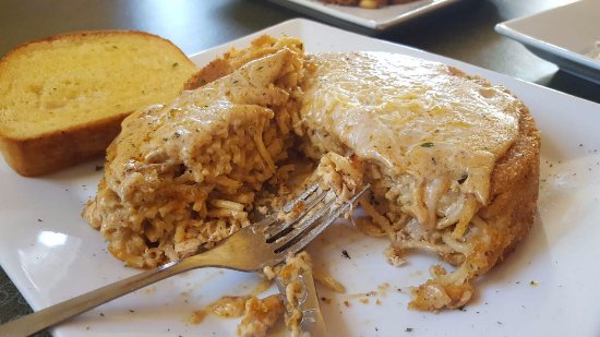 Monroe, WI: Spicy Chicken Pasta Al Forno