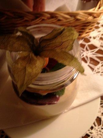 Restauracja Ester: Torta sefardita al cioccolato e pasha
