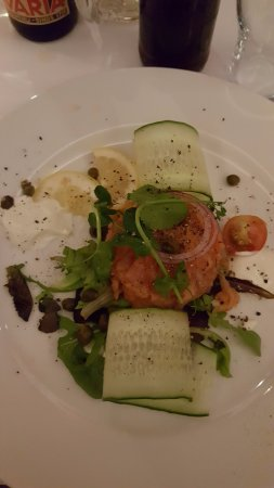 Eemnes, The Netherlands: salmon starter