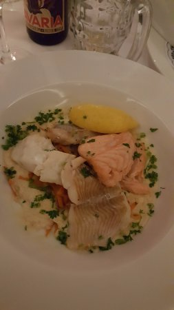 Eemnes, Holandia: fish main course