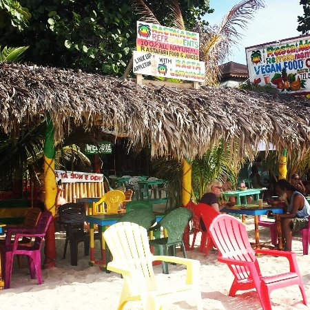 My favorite place to eat on the beach