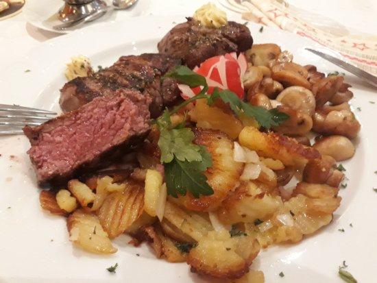 steakteller das fleisch auf den punkt picture of haus karamarko recklinghausen tripadvisor