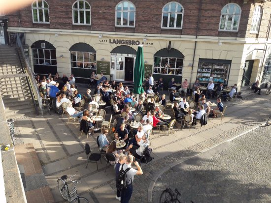 Cafe Langebro: The end of summer is being enjoyed