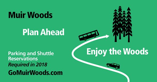 Mill Valley, CA: Muir Woods Parking and Shuttle Reservations Required in 2018